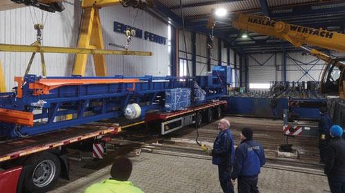 Eisen Fendt Stahlhandel Marktoberdorf - Neue Maschine Pedax