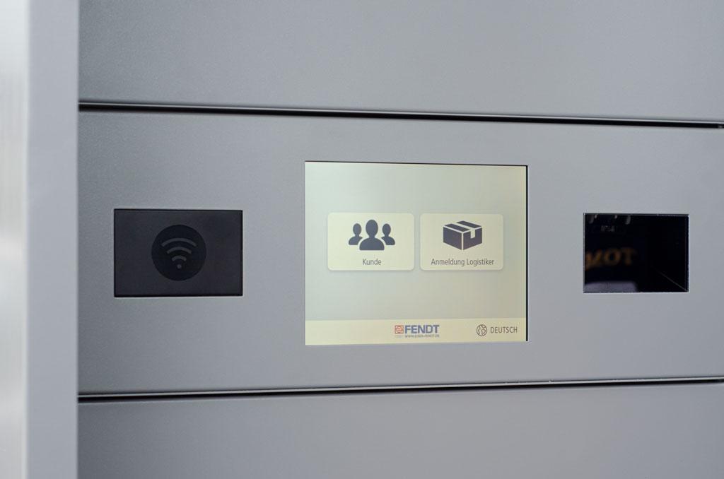 Eisen Fendt Fachmarkt Abholbox Display