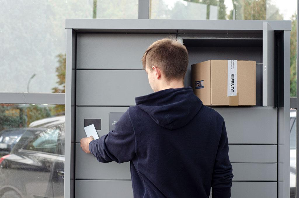 Eisen Fendt Fachmarkt Abholbox 24/7 verfügbar