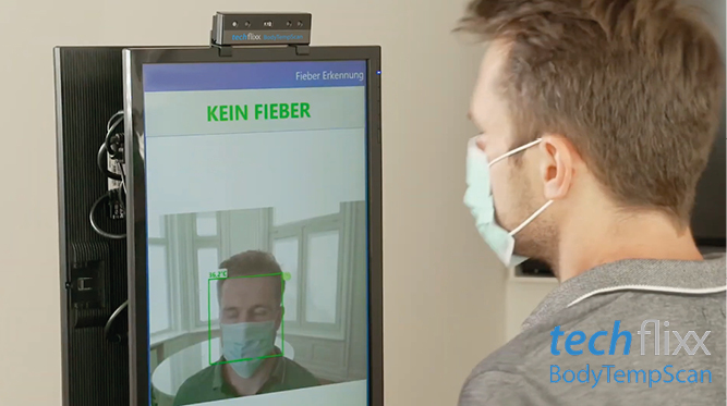 Eisen Fendt Marktoberdorf - techflixx body temp scan Fieber Scan News