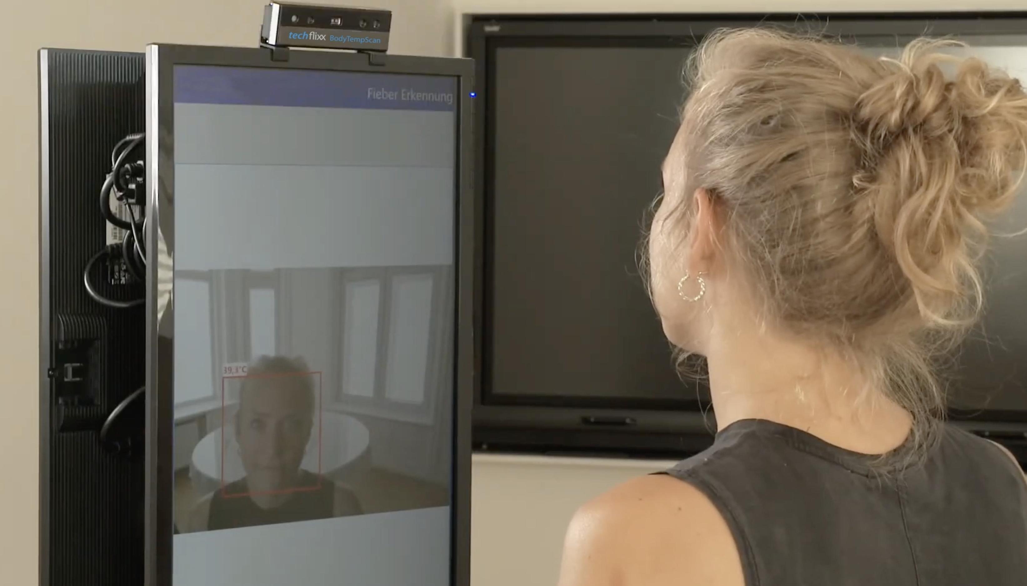 Eisen Fendt Marktoberdorf - techflixx body temp scan Fieber Scan