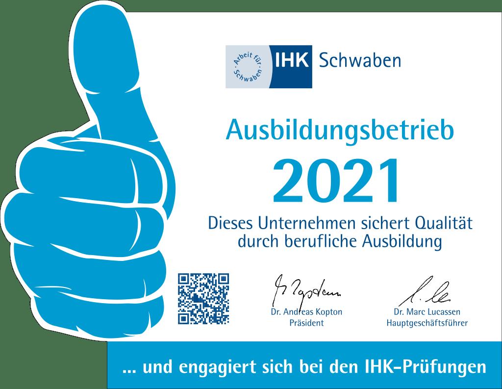 Eisen Fendt IHK Ausbildungsbetrieb 2021
